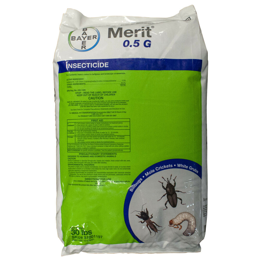 Bayer Merit 0 5 G Insecticide Granules 30 Lbs Imidacloprid