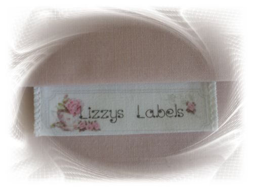 20xfabric sewing labels personalised name craft labels ebay for Sew in craft labels