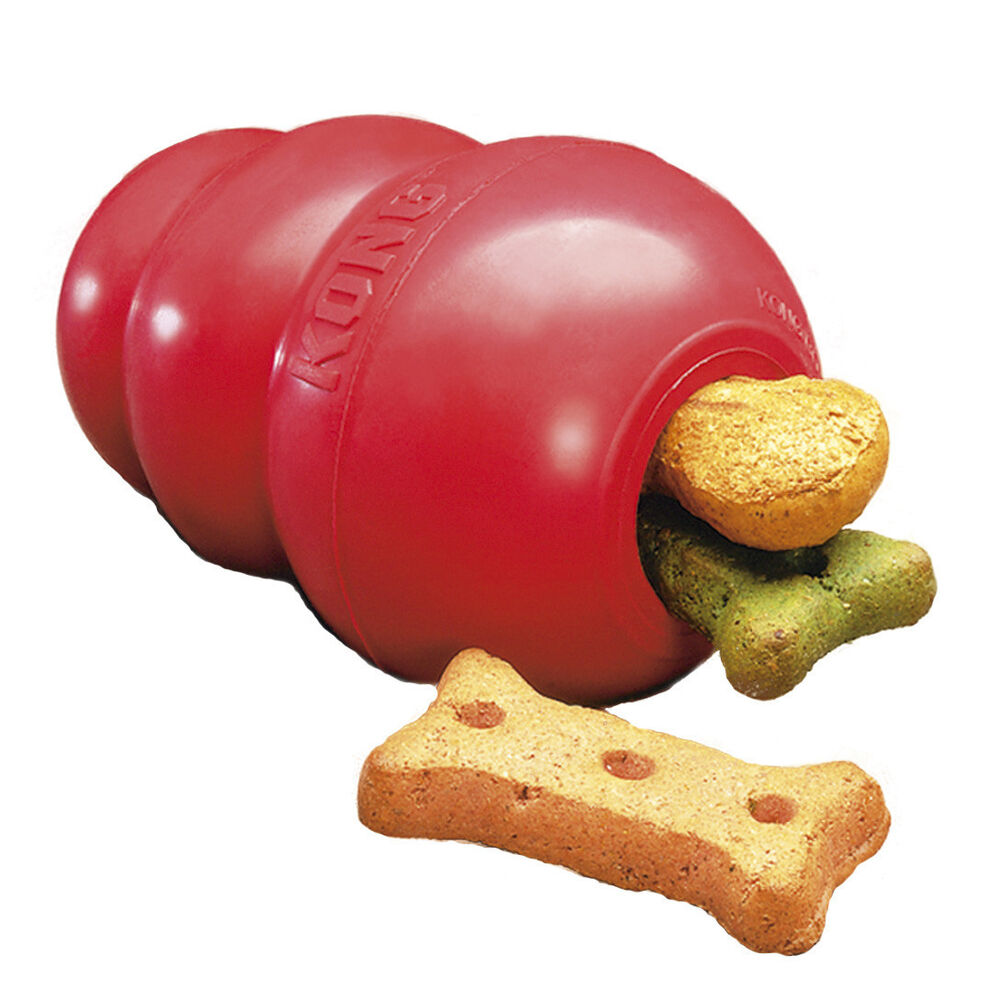 Best Small Dog Toys : Classic red kong for dogs small quot worlds best dog toy ebay