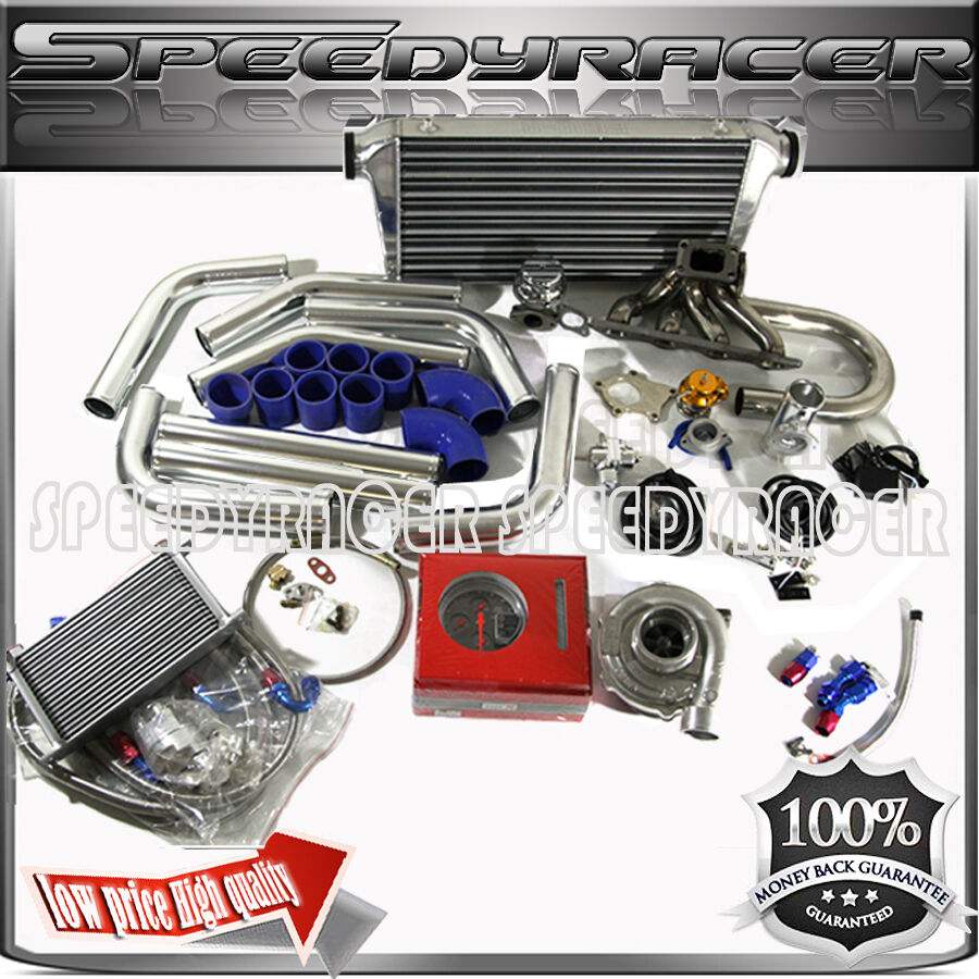 Turbo Kit Ge8: 90-99 DSM 4G63 T3/T4 Turbo Conversion Kit