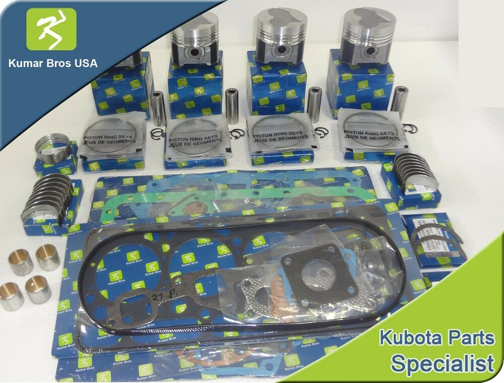 new kubota v2003 overhaul kit std