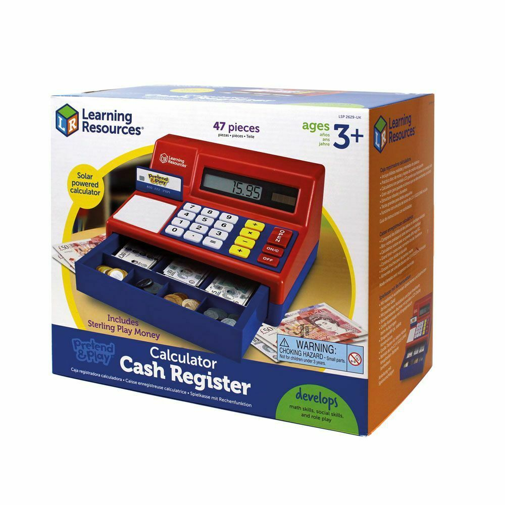 Pretend Toy Money : Children s toy cash register pretend and play kid till