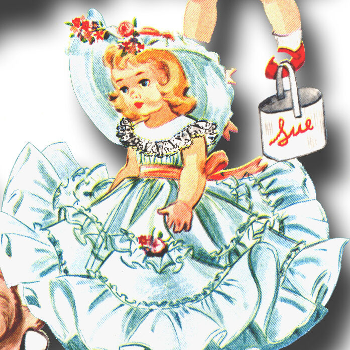 Vtg 1950s Doll Clothes Dress Pattern 14 Quot Saucy Walker