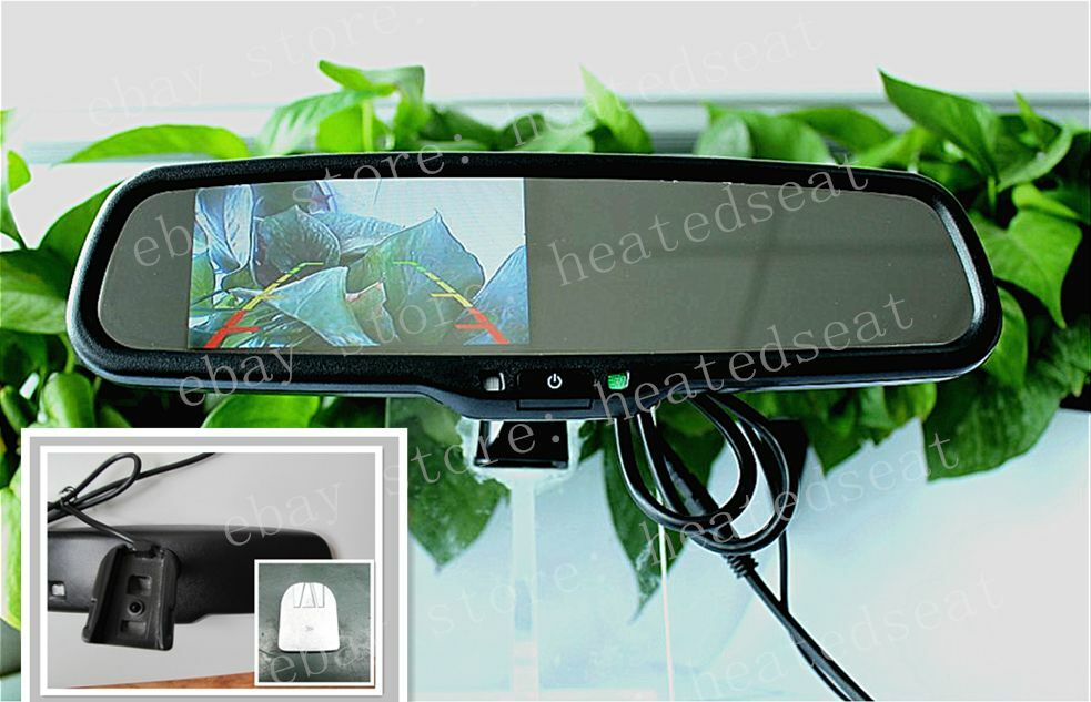 Rear View Mirror With 4 3 Camera Display Fits Ford Toyota Nissan Dodge Chevrolet Ebay