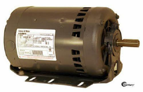H844 2 hp 3450 rpm new ao smith electric motor ebay for Ao smith ac motor 1 2 hp