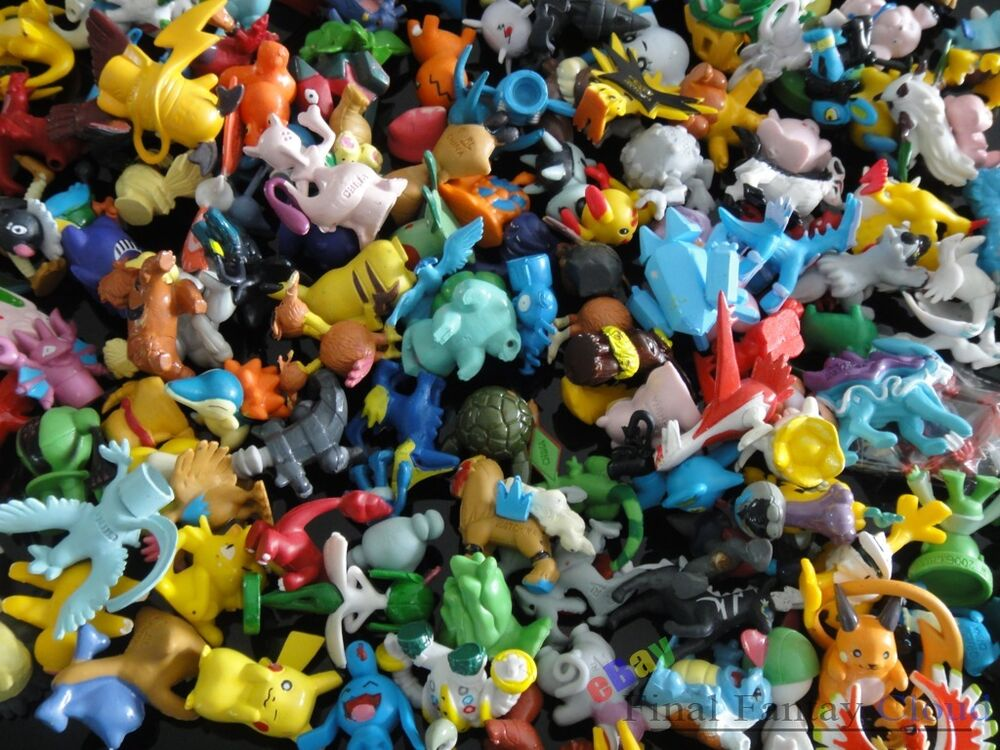 Gible Toy: Wholesale Lot Of Pokemon Pocket Monster Pikachu Action