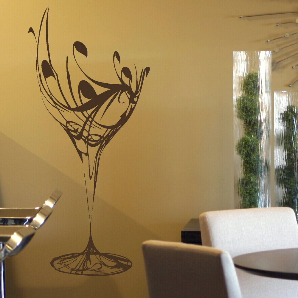 Wine Kitchen Wall Stickers