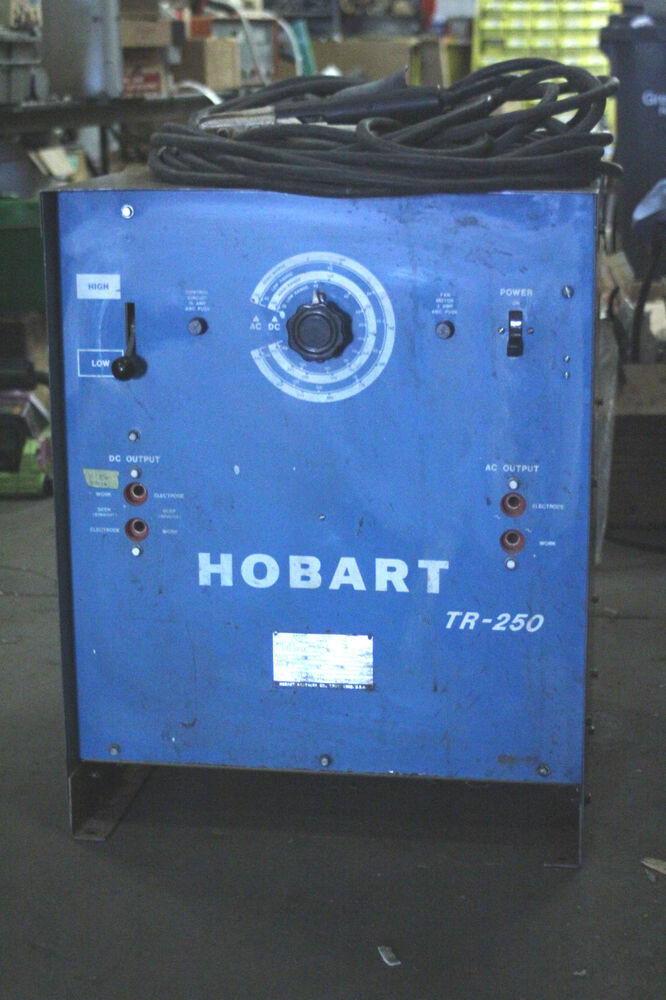 hobart arc welder [model tr-250] | ebay 50a rv plug to 50 amp welder wiring diagram tr 300 welder wiring diagram
