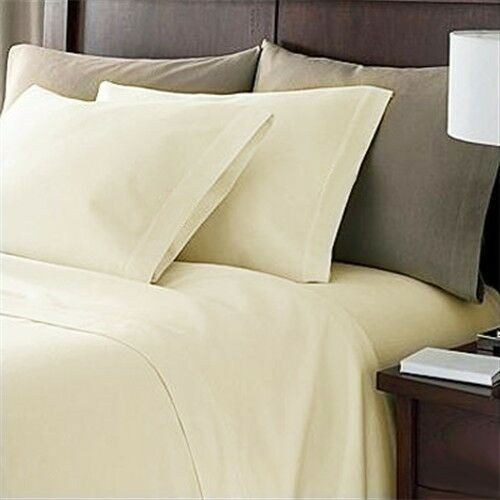 Extra 2 Types Ivory Sheets Bedding Patterns 1000tc Pure