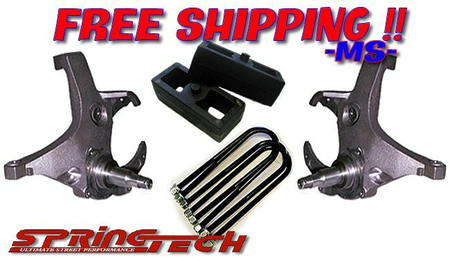 "2wd Ford F150 Lift Kits >> 2001-2008 Ford Ranger 3""/2"" Lift Kit Knuckles Spindles Blocks 