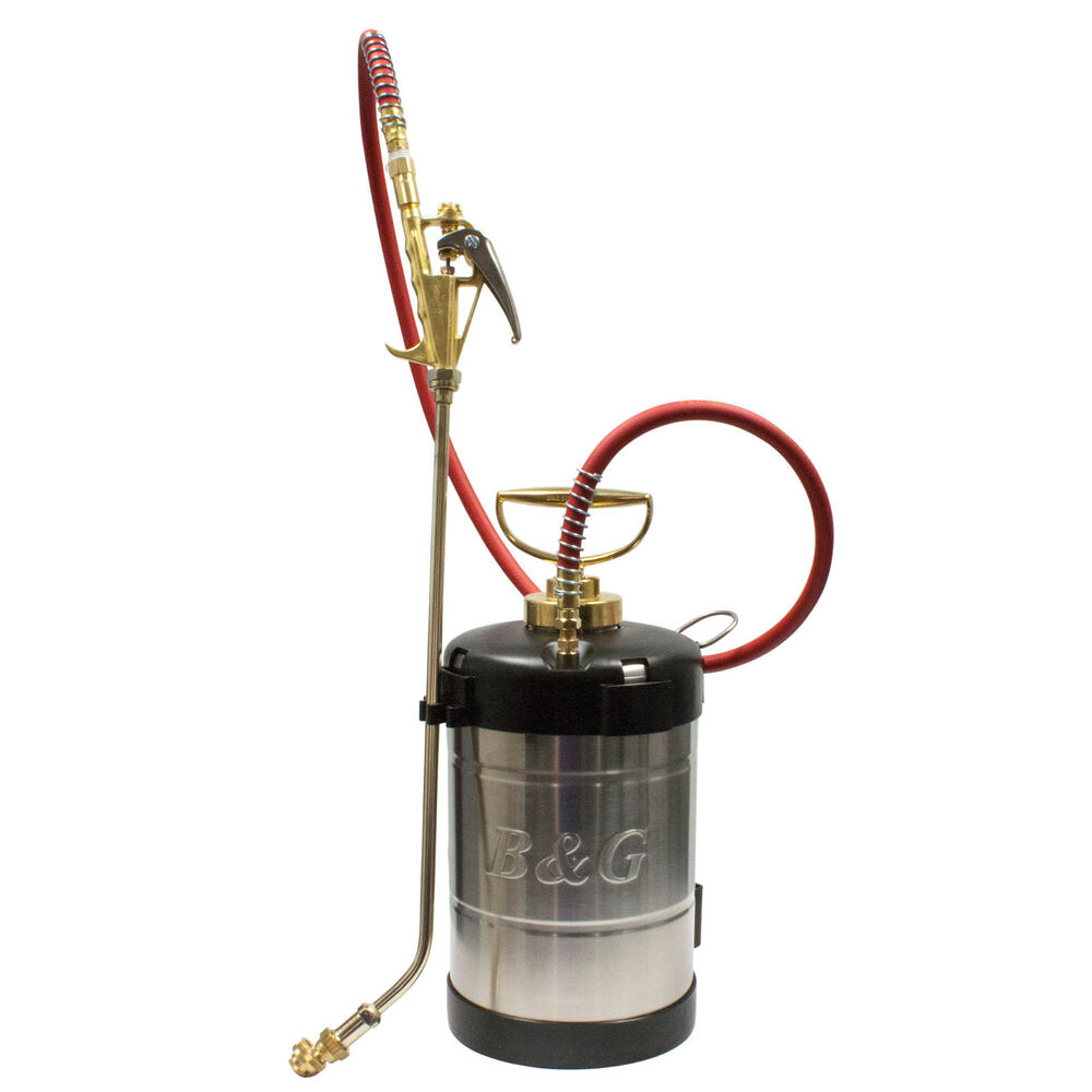B Amp G Stainless Steel Pco Sprayer 18 Quot Wand N124 S 18 B Amp G 1