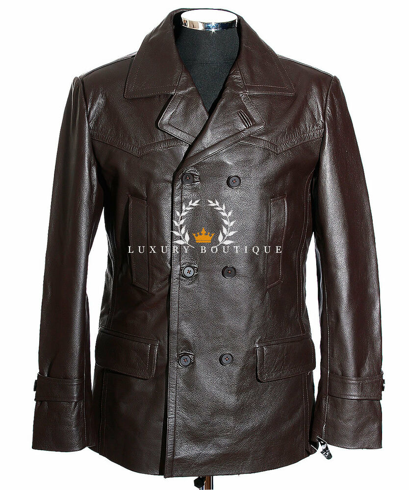 Leather u boat jacket