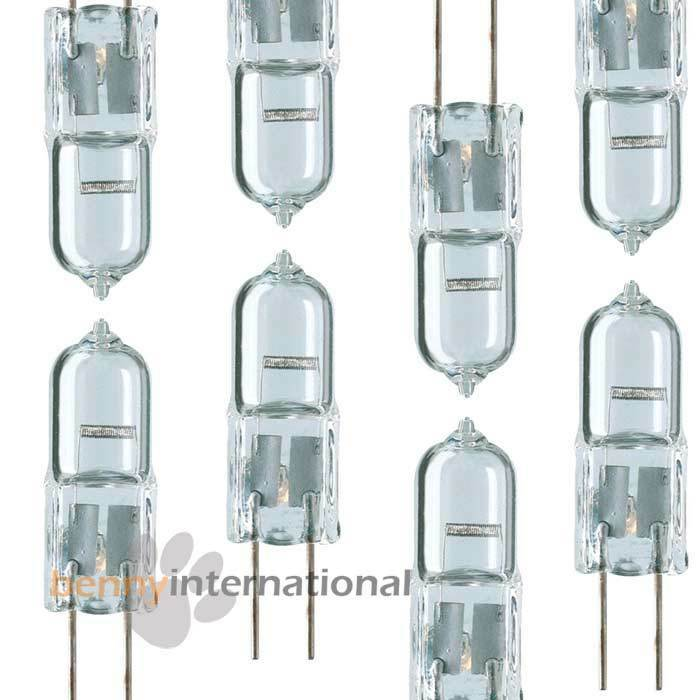 12v 10w g4 halogen globe bulb garden home 10 pcs ebay. Black Bedroom Furniture Sets. Home Design Ideas