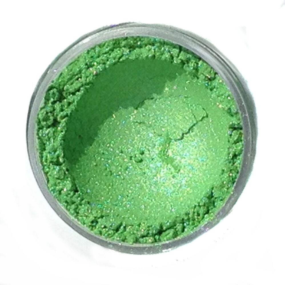 pistachio green cosmetic mica powder for soap bath bomb