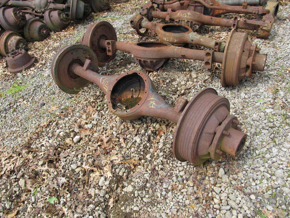 4x4 Front Axle Assembly : Chevy g rear axle housing assembly used