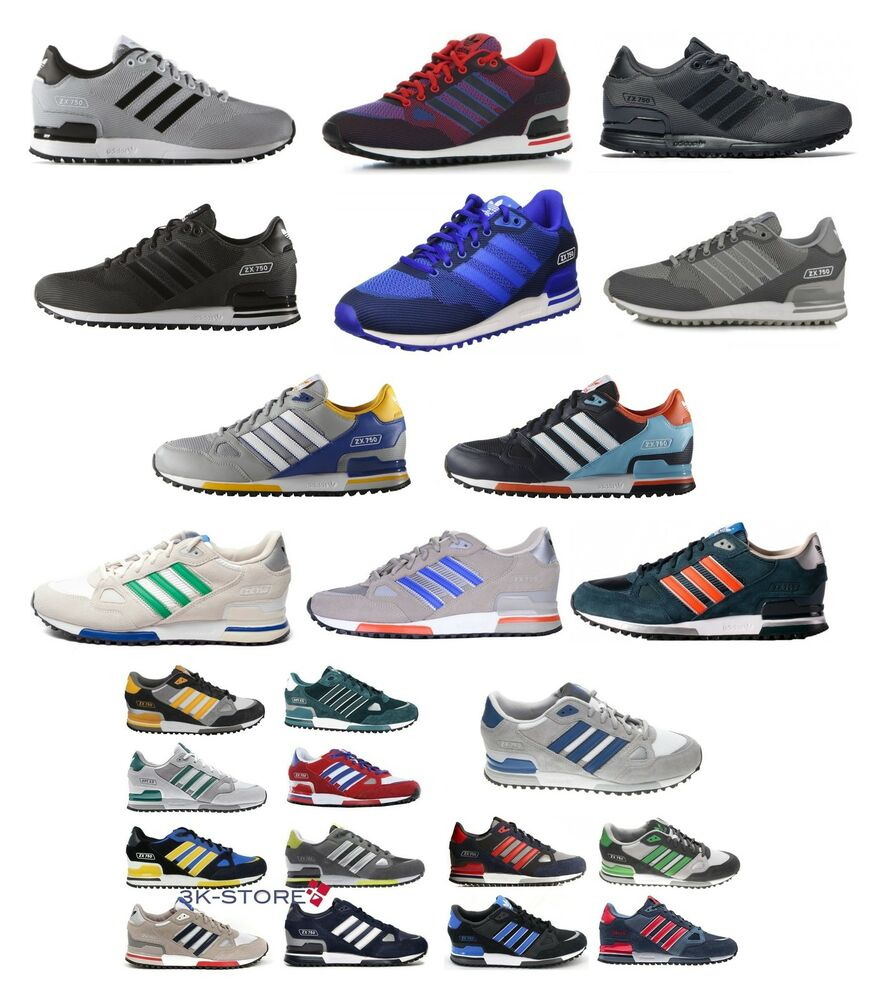 online store 732a7 08ff1 SCARPA UOMO MAN RUNNING ADIDAS MOD. ZX 750 TRAINER SHOES   eBay