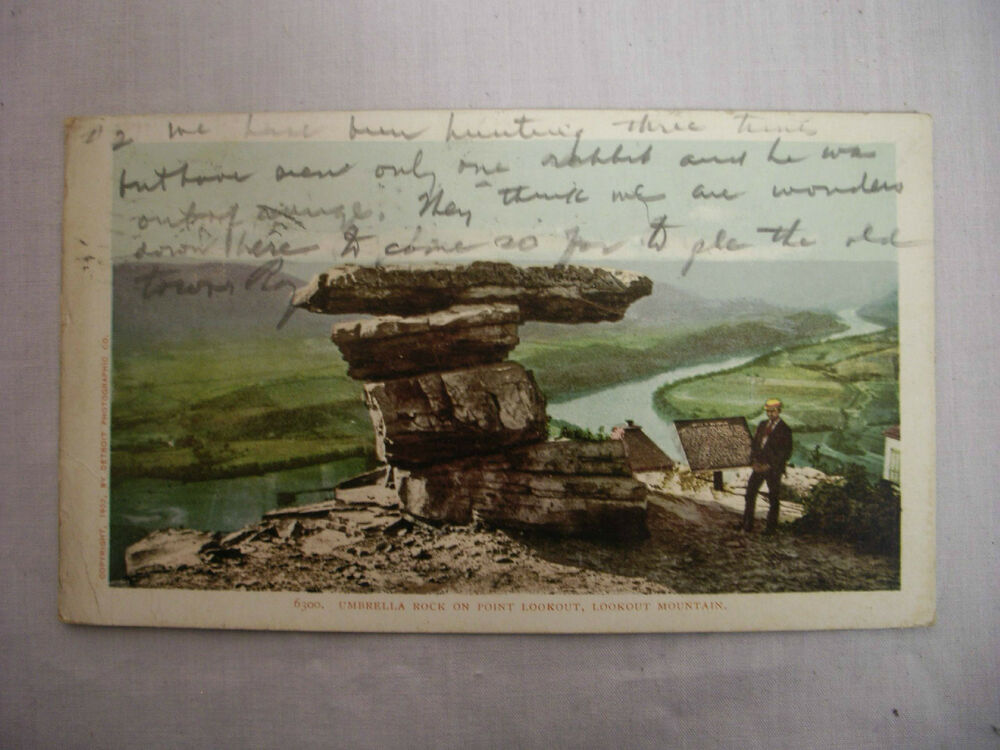 TX, Texas ENCHANTED ROCK Llano County Chrome Postcard