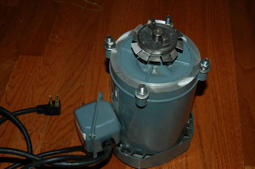 Ge General Electric Electric Motor A C 115v 1 3 Hp 1750