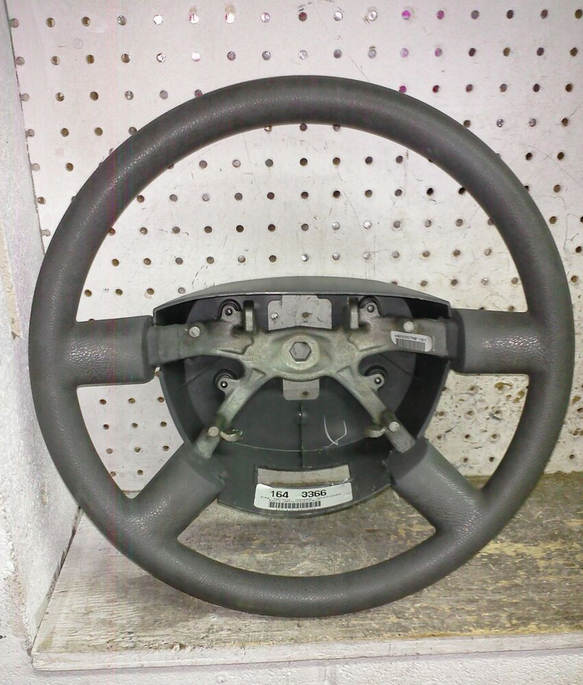 05 07 ford five hundred steering wheel oem ebay. Black Bedroom Furniture Sets. Home Design Ideas