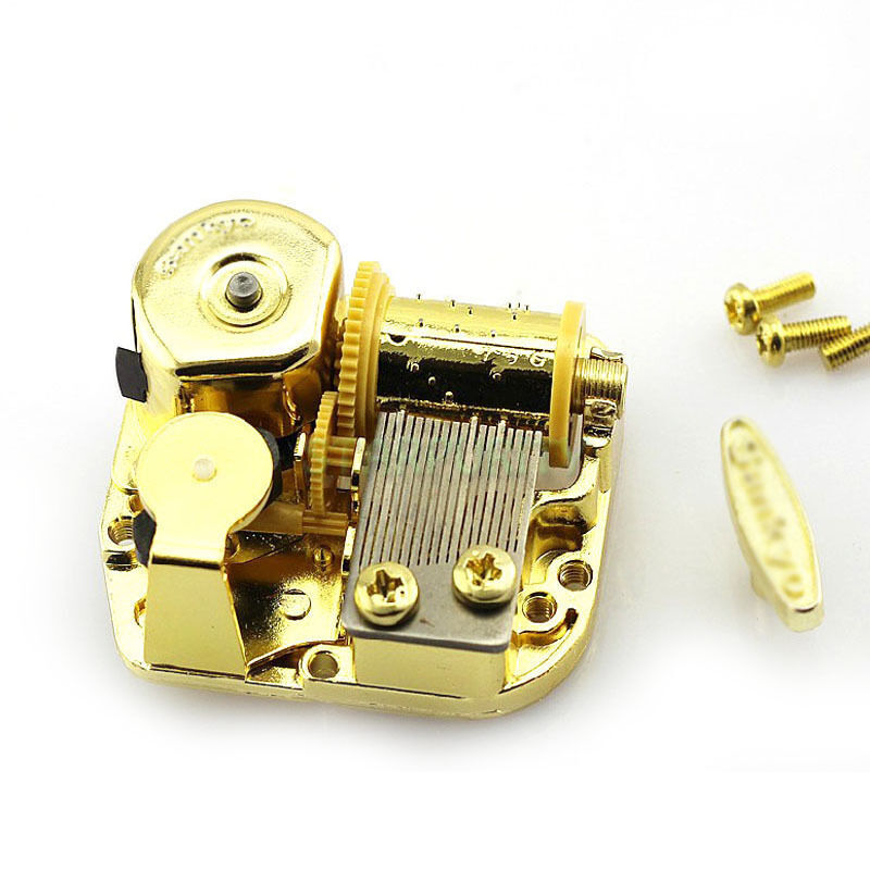 how to make a windup music box movement 1