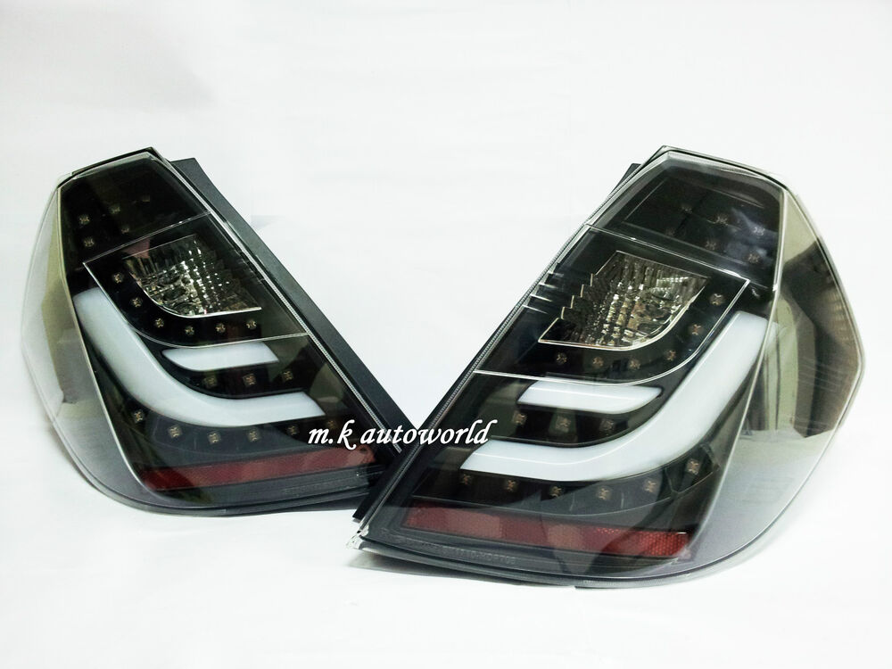 Honda Fit Jazz Led Light Bar Tail Lights Lamps Black 08