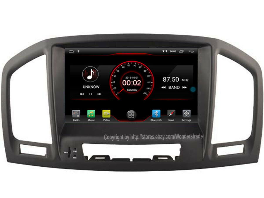 Android 5 1 Car Dvd Player Radio Stereo Gps For Opel Insignia Vauxhall 2008 2011 Ebay