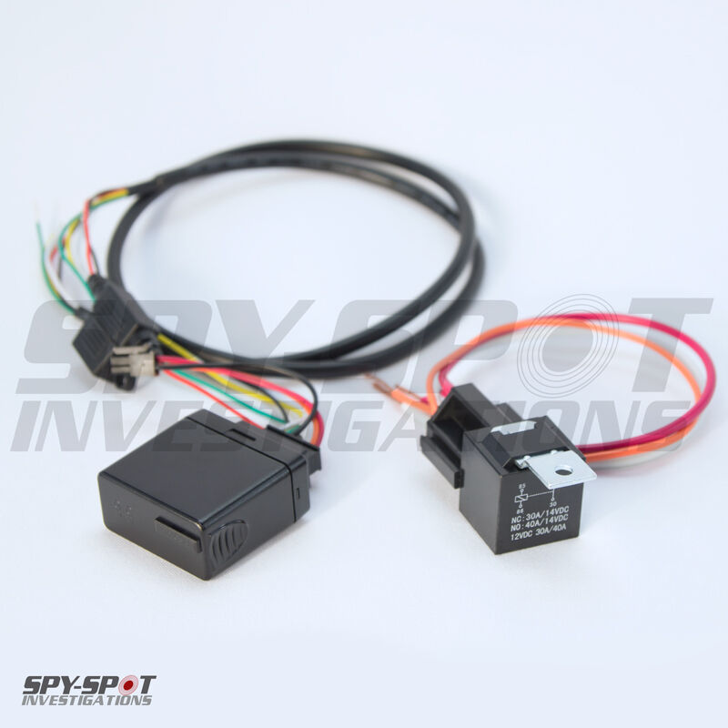 Remotely Disabled Ignition Kill Switch Relay Real Time Gps