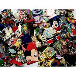 Kyпить DISNEY PINS 125 PIN mixed lot FASTEST SHIPPER IN USA FREE shipping 100% tradable на еВаy.соm