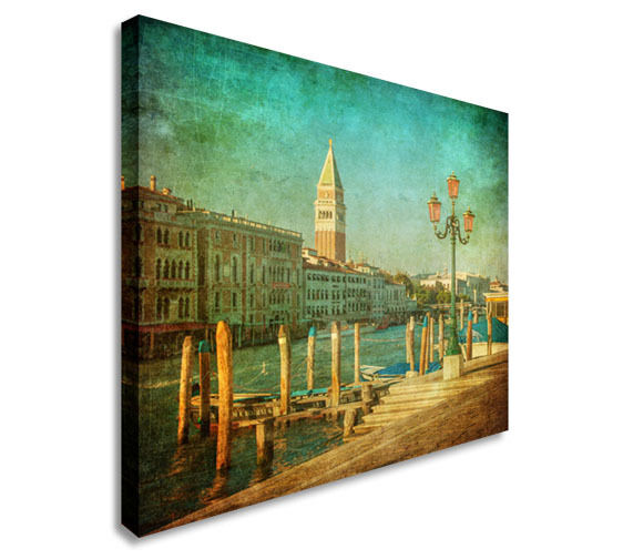 Venice italy canal wall picture prints canvas art cheap ebay for Cheap art prints on canvas