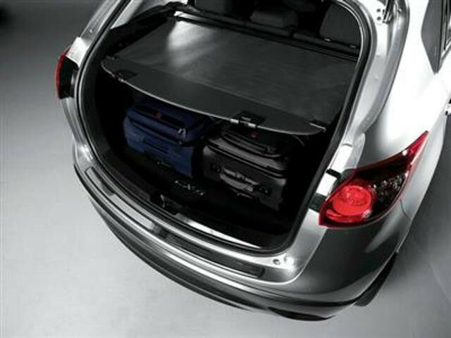 mazda cx 5 retractable cargo cover 2013 2014 2015 2016 kd33 v1 350a ebay. Black Bedroom Furniture Sets. Home Design Ideas