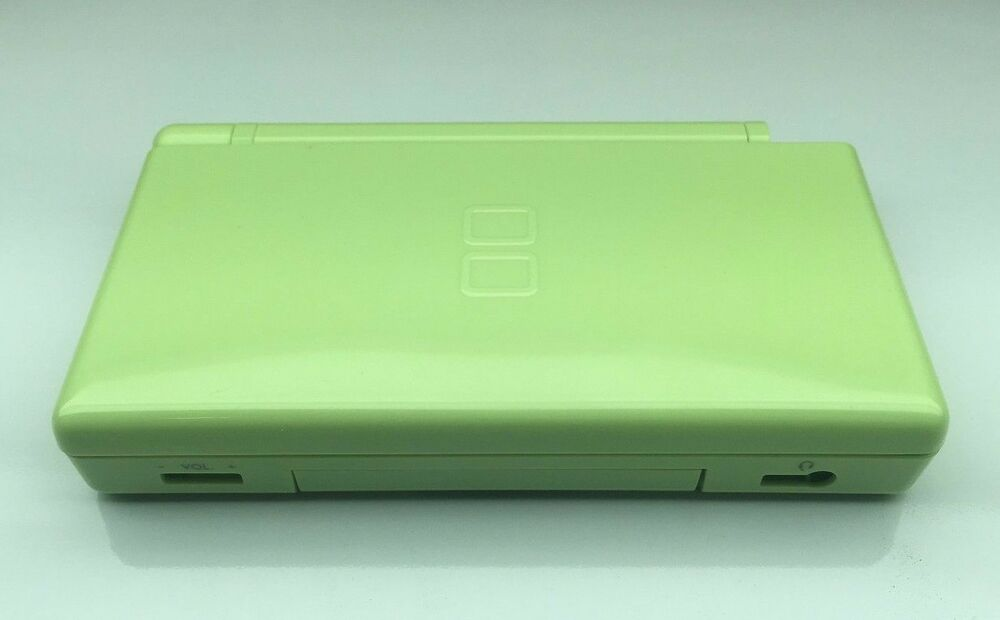 nintendo ds lite case replacement us seller full housing shell lite green ebay. Black Bedroom Furniture Sets. Home Design Ideas