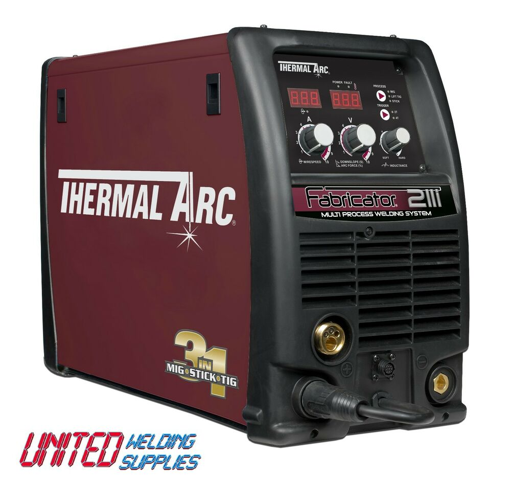 Thermal Arc Fabricator 211i Dual Voltage 110V & 240V MIG ...