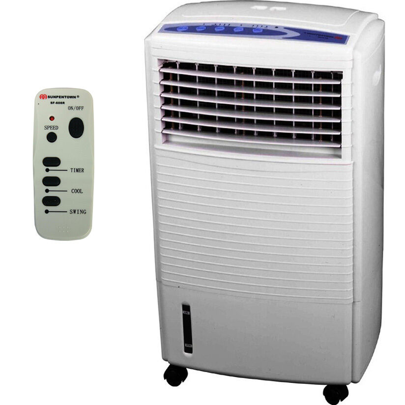 Evaporative Air Cooling : Portable air cooler humidifier swamp fan evaporative