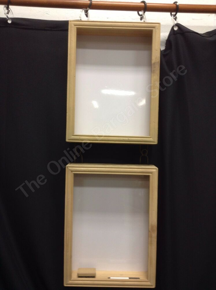 Drying Cabinet For Pottery Studio ~ Pottery barn union office wood wall wipe off message board