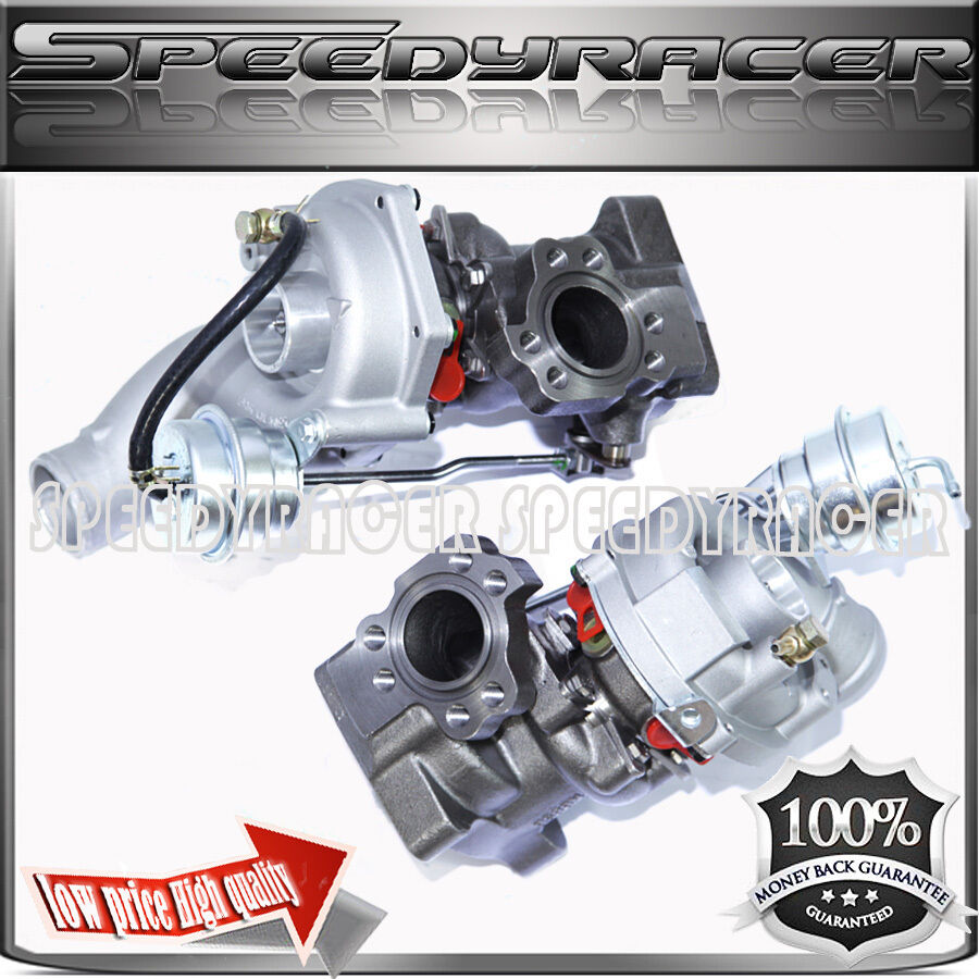 Twin Turbo Kit For Audi Rs4: TWIN Turbo Charger For 01-05 Audi Allroad S4 A6 2.7T