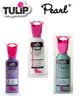 Tulip Pearl 3D dimensional fabric paint 37ml - * same low p+p any quantity