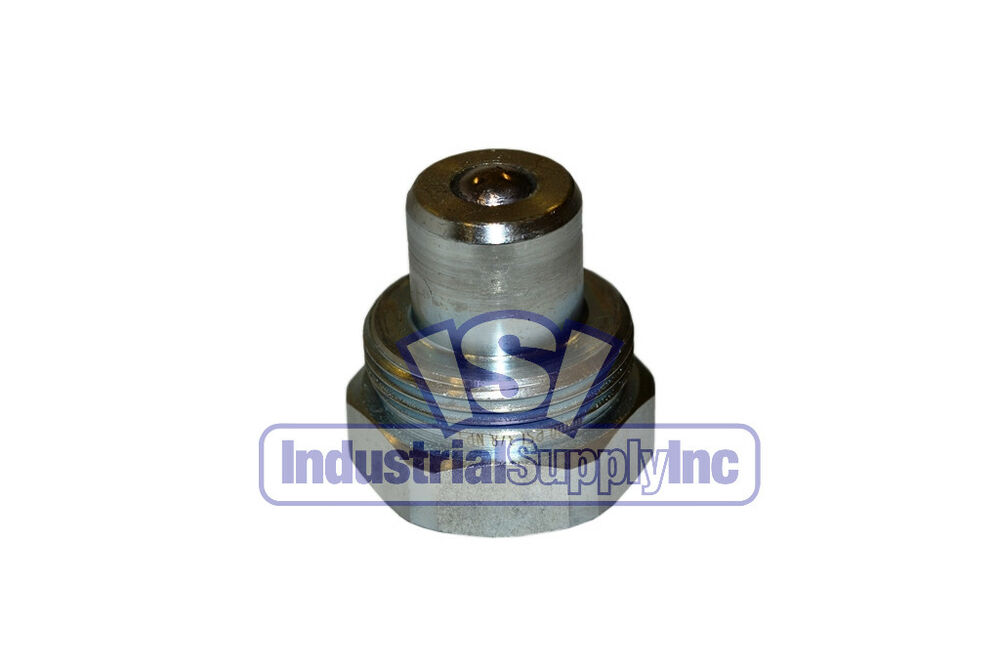 Quot psi high pressure hydraulic quick nipple plug