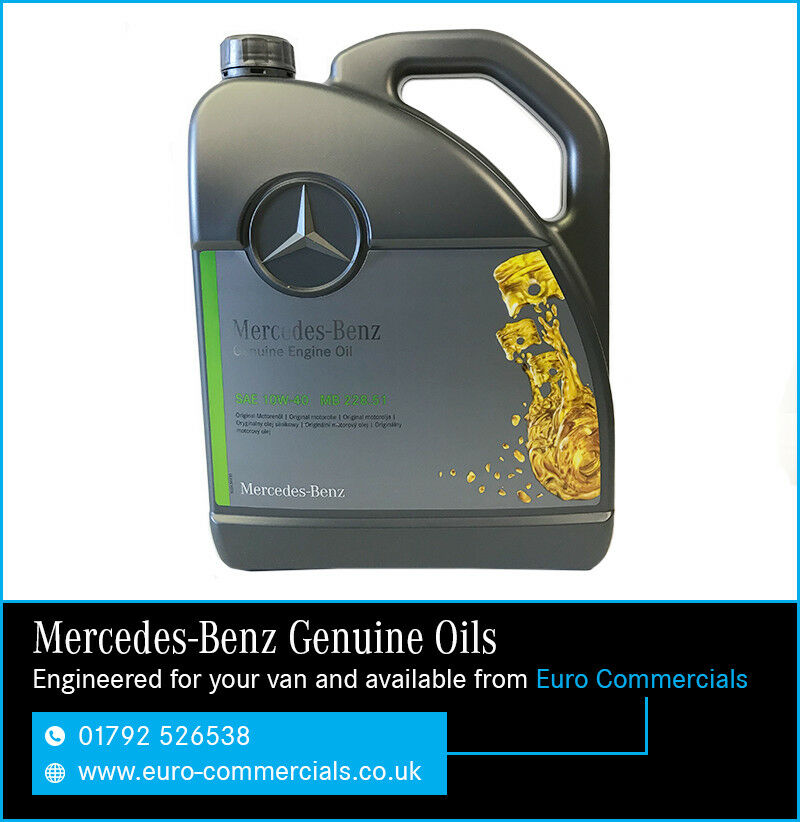 5l genuine mercedes benz 10w40 low ash engine oil for Mercedes benz recommended oil