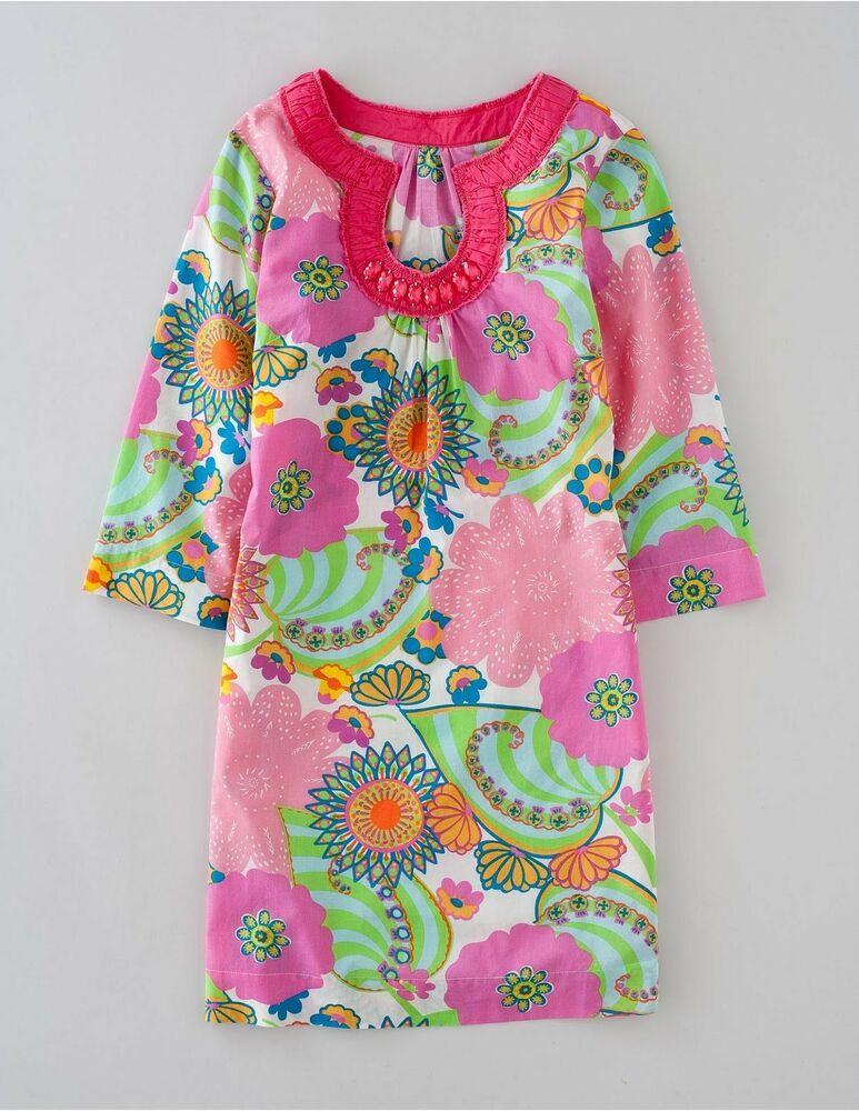 Boden pool party kaftan beach dress tunic top 2 cols new for Boden new british