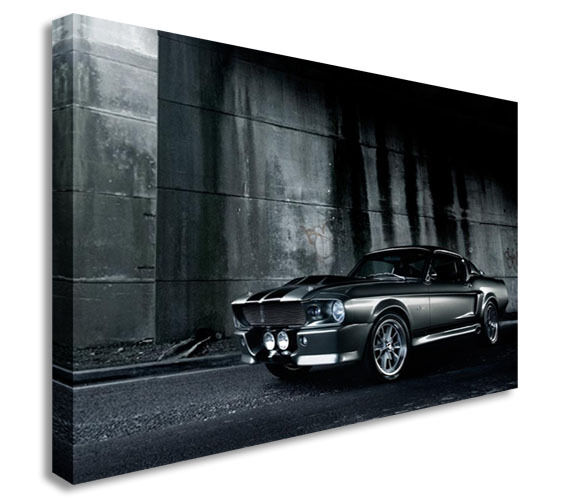 1967 Ford Mustang Eleanor Gone In 60 Secs Wall Picture