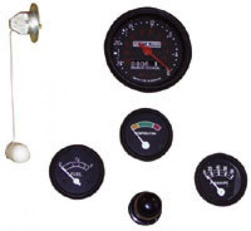 Ford Tractor Fuel Gauge : New ford tractor instrument gauge kit v select o speed