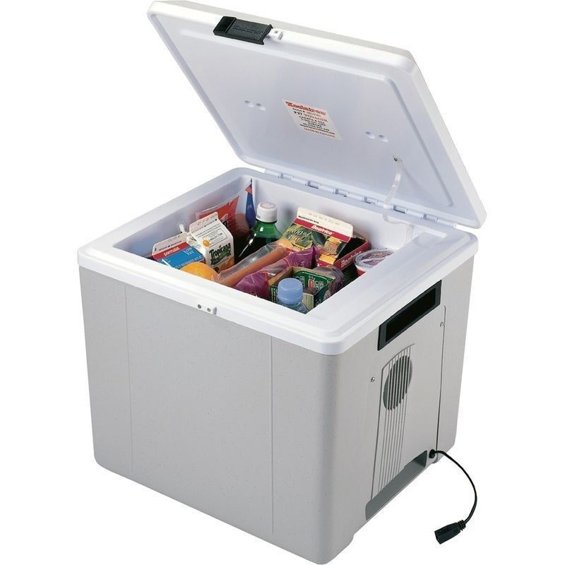 Electric Can Cooler ~ Thermoelectric can beverage cooler warmer volt