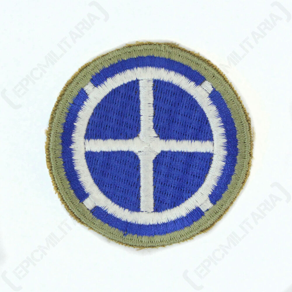 Ww2 us american 35th infantry ision patch repro ebay