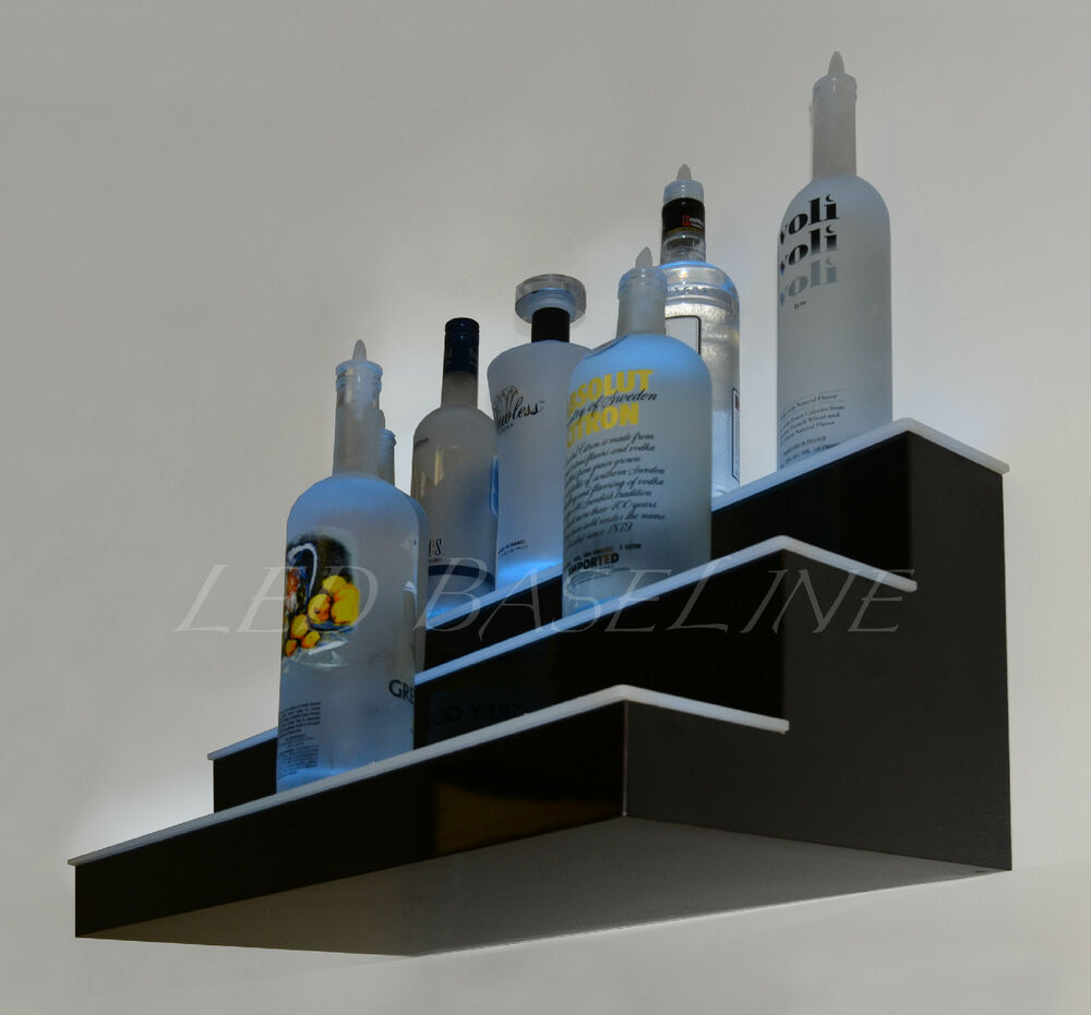 181192302138 on bar shelves lighted liquor bottle