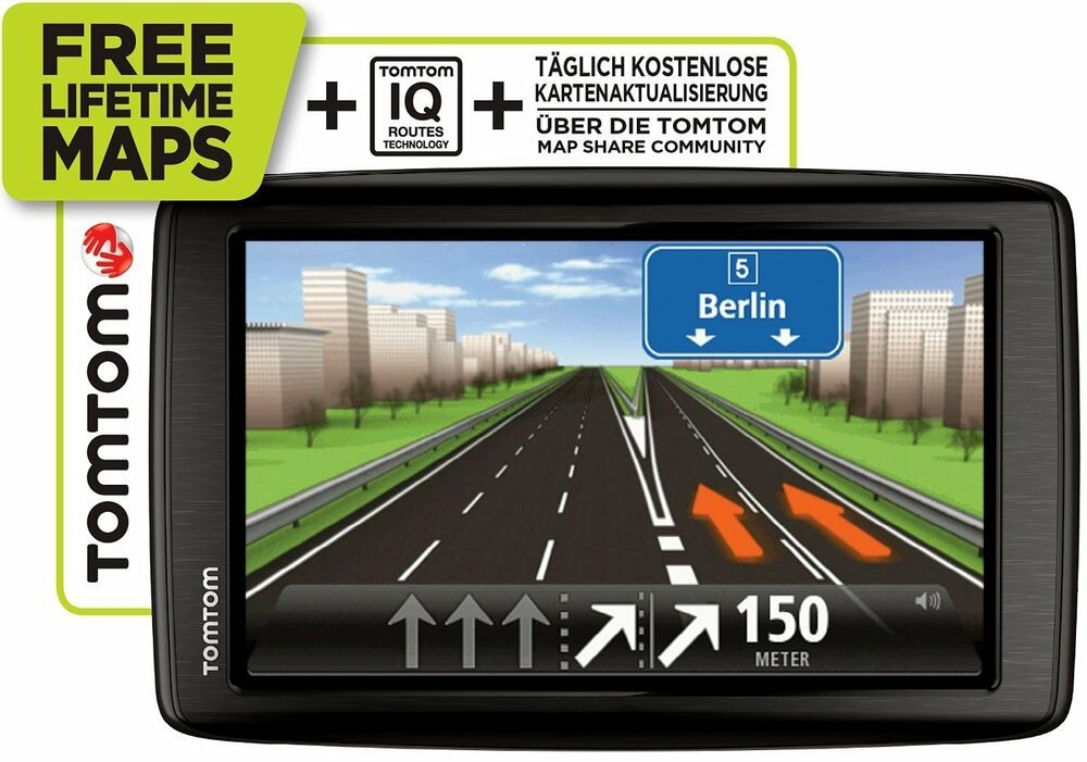 tomtom start 60 m europa 45 l nder 6 xxl eu iq gps navi. Black Bedroom Furniture Sets. Home Design Ideas