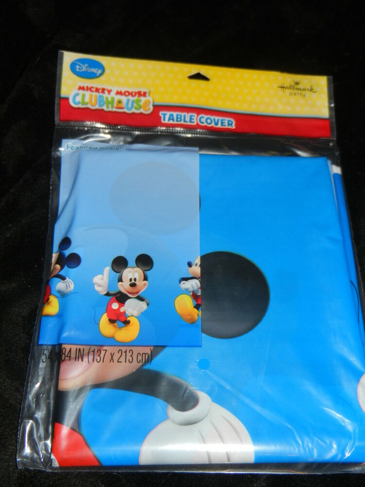 mickey mouse birthday party table cover hallmark brand