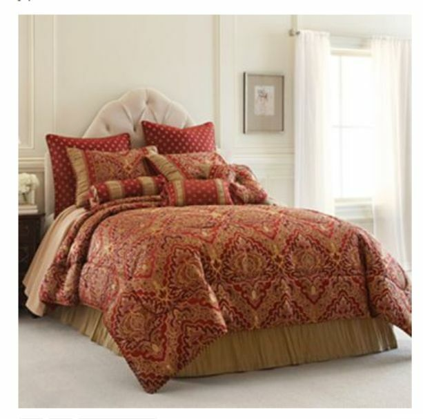Chris Madden St Petersburg 7 Pc Queen Comforter Set New