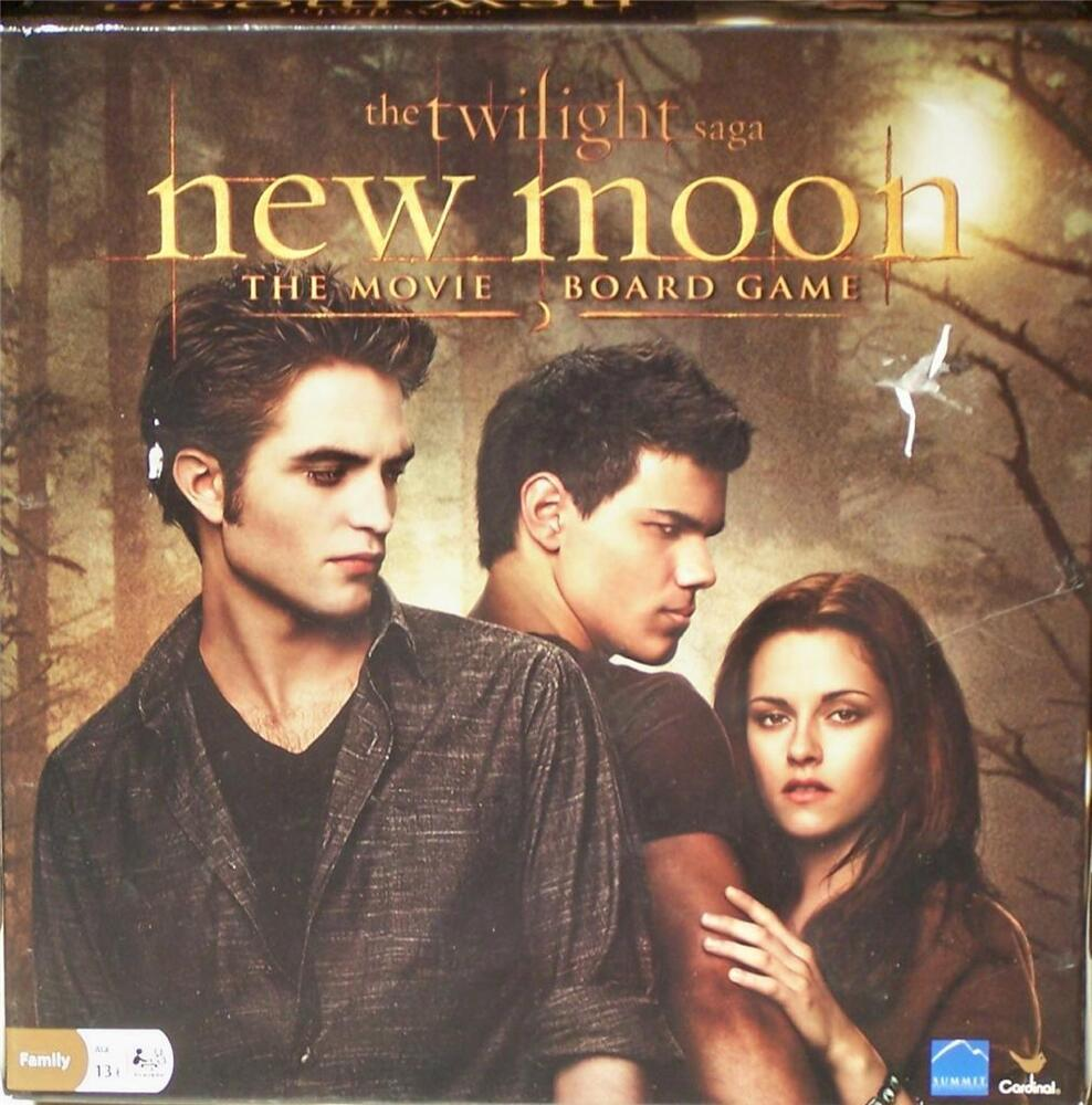 Spin Master Games The Twilight Saga New Moon Movie Board Game