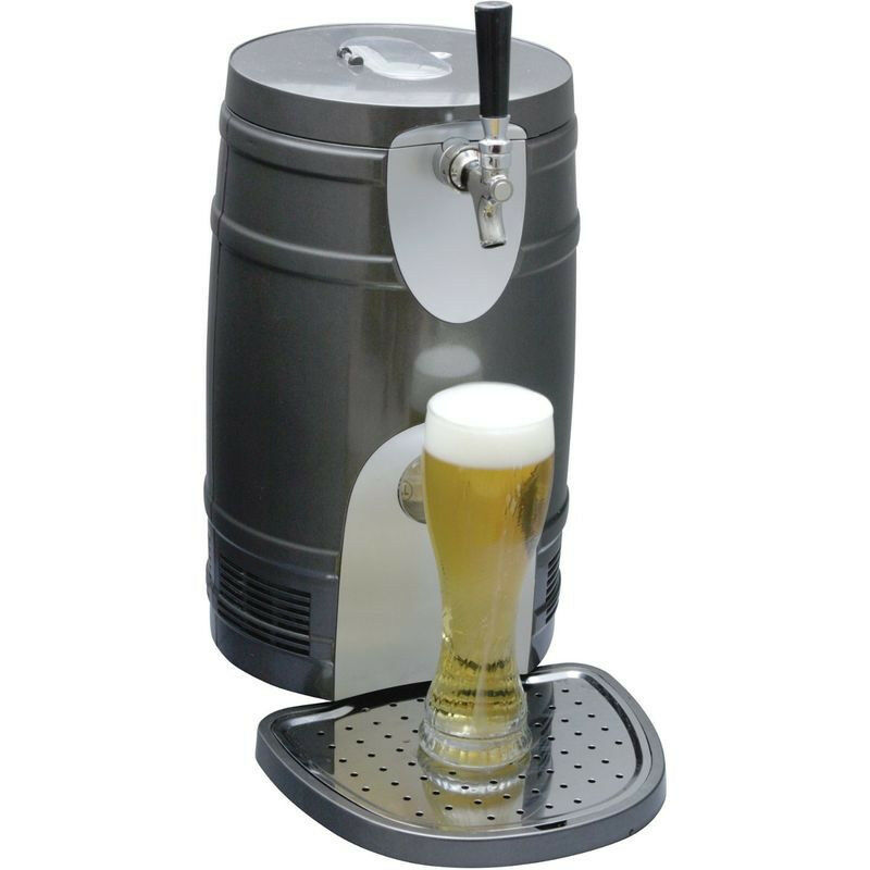 Compact 5 Liter Mini Kegerator Cooler Pressurized Or