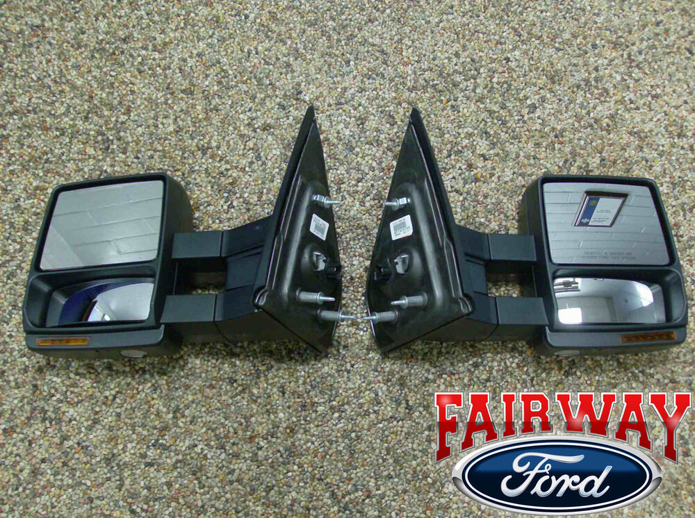 07 Thru 14 F 150 Oem Ford Power Heat Telescopic Trailer